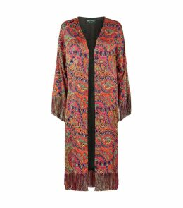 Paisley Duster Coat