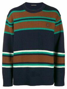 Acne Studios striped sweater - Blue