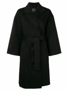 Theory cocoon coat - Black