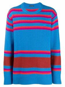 Acne Studios striped knit sweater - Orange