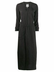 Kristensen Du Nord long-sleeve flared dress - Black