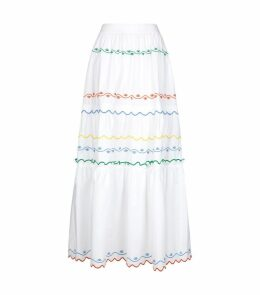 Scallop Embroidery Skirt
