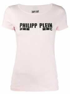 Philipp Plein classic logo T-shirt - Pink
