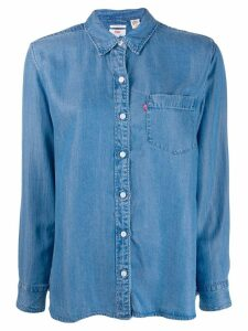 Levi's chest pocket denim shirt - Blue