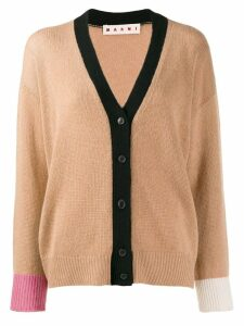Marni cashmere cardigan - Brown
