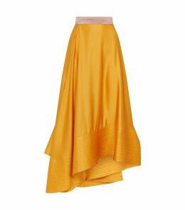 Coleta Drape Midi Skirt