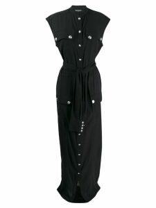 Balmain tie-waist dress - Black