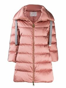 Herno glove padded coat - Pink