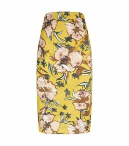 Mariola Floral Pencil Skirt