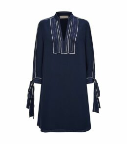 Contrast Stripe Tunic Dress