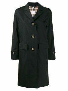 Burberry gabardine car coat - Black