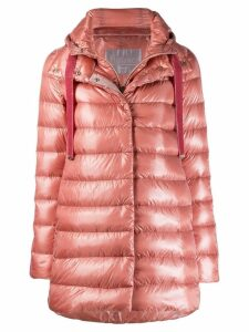 Herno hooded quilted coat - Pink