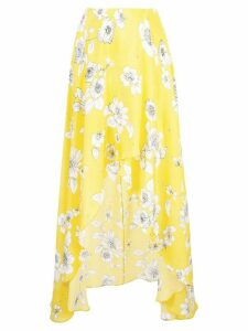 Alice+Olivia Kirstie flared skirt - Yellow