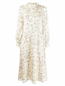 Goat Goldfinch floral print dress - Neutrals