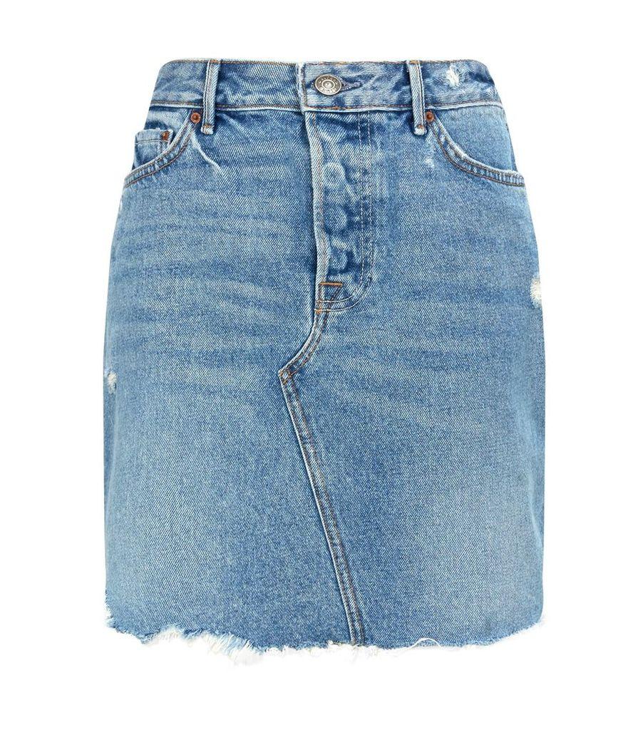 Rhoda Asymmetric Pencil Skirt