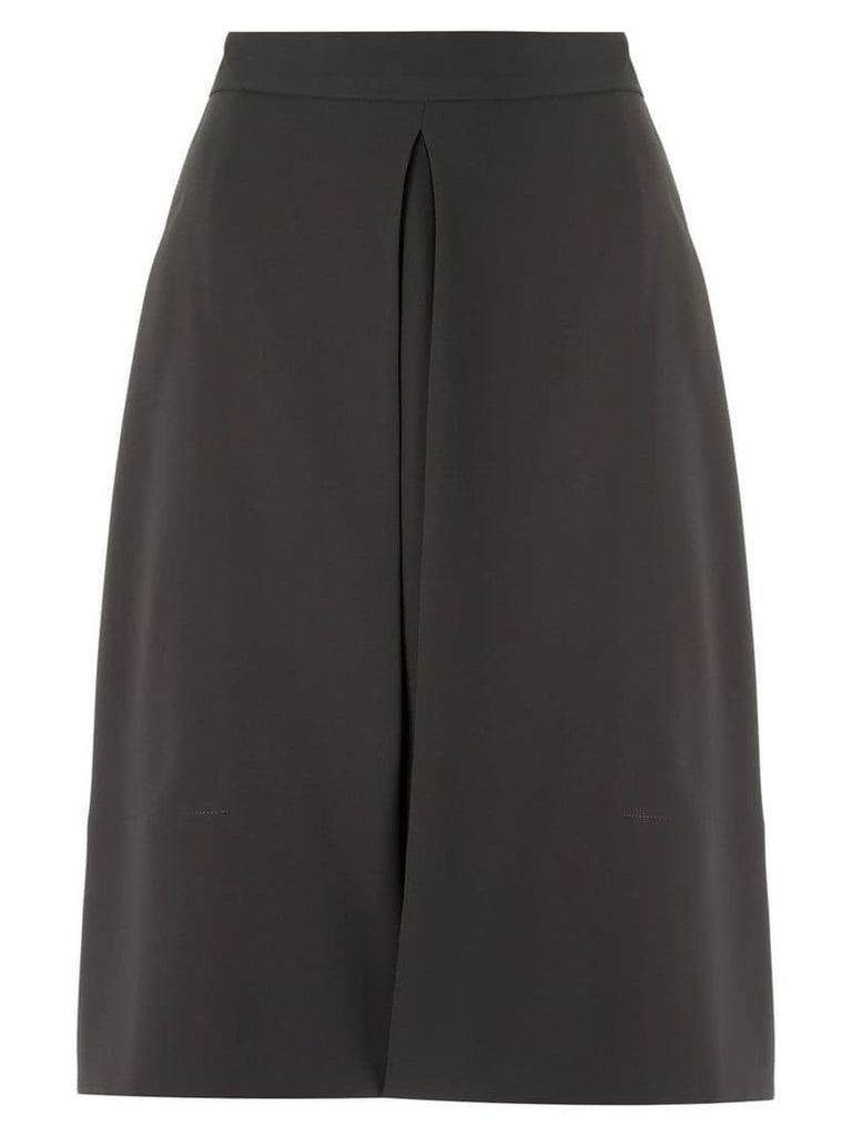 Gloria Coelho high waisted skirt - Grey