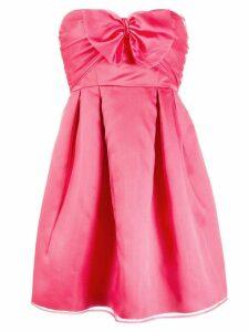 Pinko bow detail mini dress
