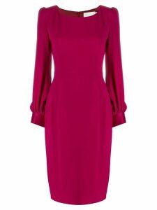 Goat Harper midi dress - Pink