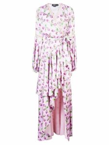 Patbo floral print ruffled dress - Purple