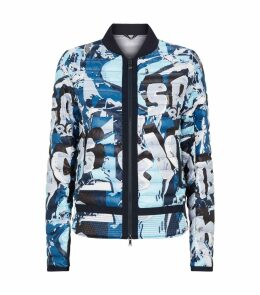 Printed Quilted Jacket