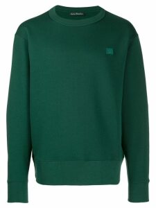 Acne Studios Fairview Face sweatshirt - Green
