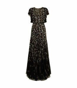 Katinka Embellished Tulle Gown