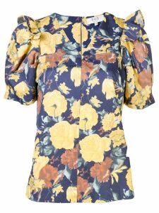 Sea Ella floral blouse - Black