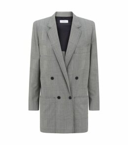 Oxford Wool Check Blazer