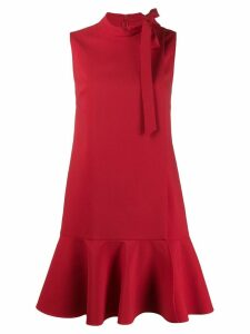 Valentino crepe couture dress - Red