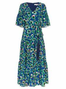 Borgo De Nor Teodora floral-print maxi dress - Blue
