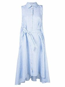 Palmer / Harding shirt midi dress - Blue
