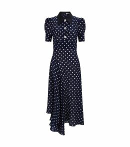 Embellished Polka Dot Dress