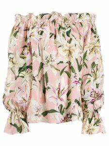 Dolce & Gabbana Lily gypsy top - Pink
