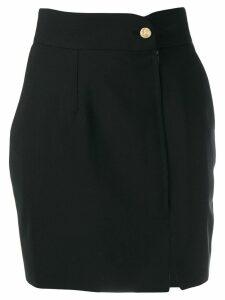 Just Cavalli high-rise mini skirt - Black