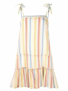 Suboo striped mini dress - Multicolour