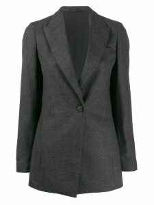 Brunello Cucinelli fitted blazer - Grey