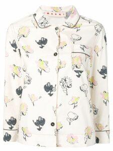 Marni printed shirt - White