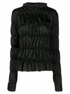 Jourden Varie satin blouse - Black