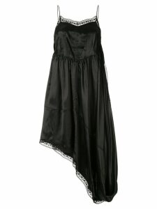 Mm6 Maison Margiela asymmetric flared dress - Black