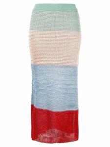Suboo Lucy knitted midi skirt - Multicolour
