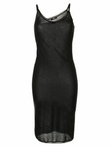 Yang Li tank long-length dress - Black