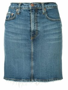 Nobody Denim Siren denim skirt - Blue