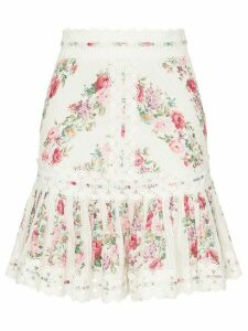Zimmermann Honour floral print skirt - Multicolour