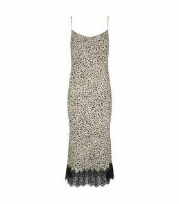 Anya Leopard Slip Dress