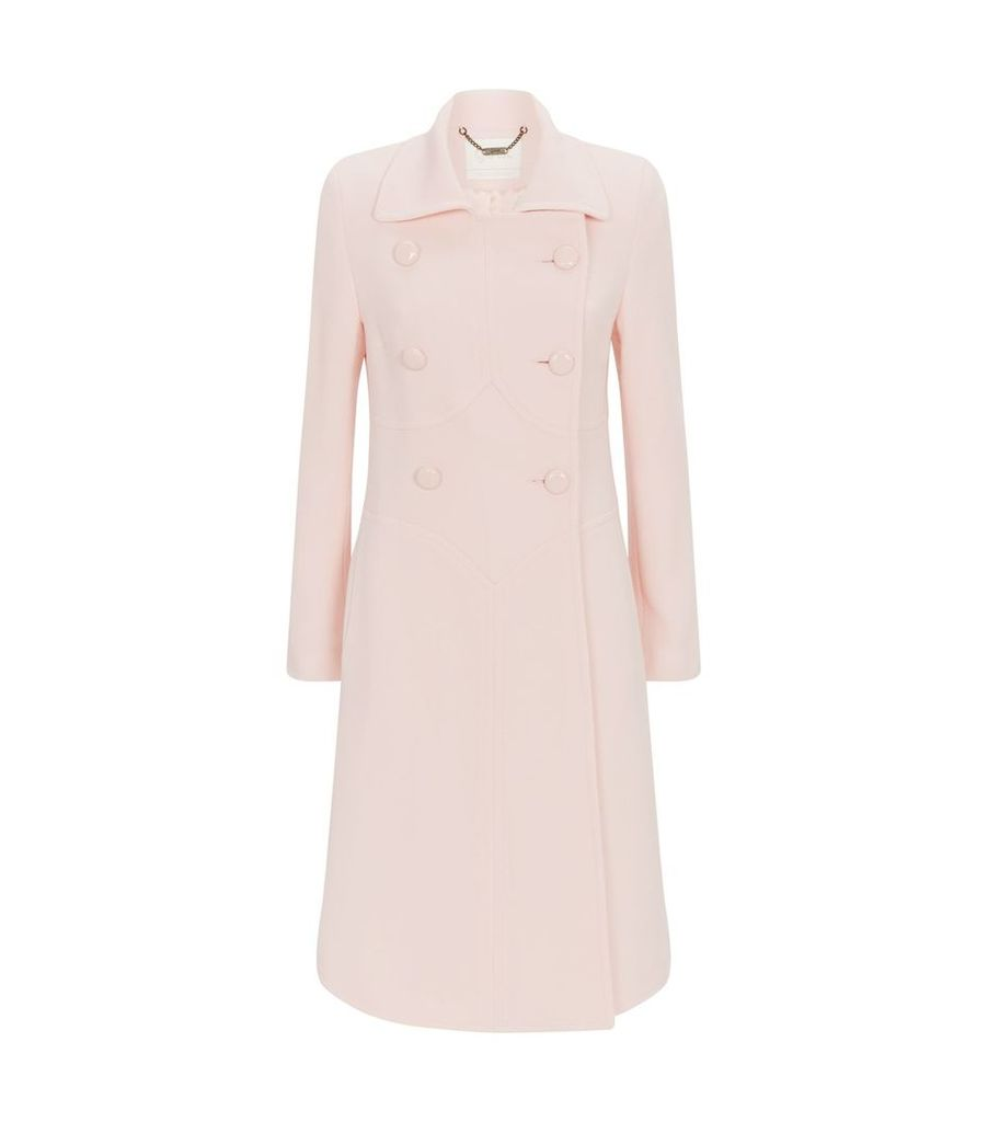 Wool Panelled Coat
