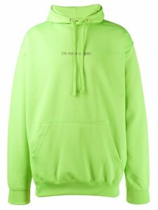 F.A.M.T. 'I'm not a rapper' hoodie - Green