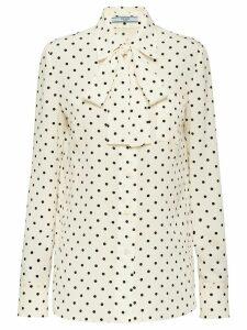 Prada polka dot shirt - White