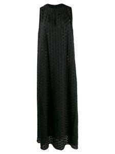 Pierantoniogaspari dotted maxi dress - Black