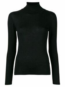 Brunello Cucinelli cashmere classic turtle neck sweater - Black