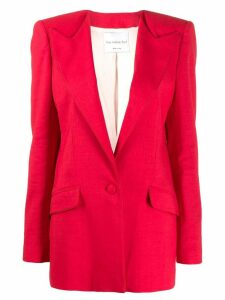 Hebe Studio boyfriend blazer - Red